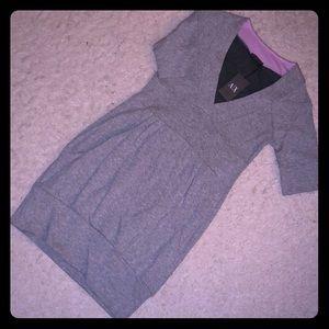 A|X Armani Exchange Sweatshirt Dress w/ Pockets
